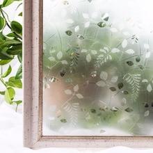 CottonColors Window Cover Films No-Glue 3D Static Decorative Window Privacy Glass Sticker ,3Ft X 6.5Ft.(90 x 200cm)