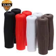 Universal 1 Vintage Coke Bottle Hard Rubber Handlebar Handle Grips Motorcycle for Harley Bobber Chopper For