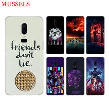 Stranger Things Poster Phone Back Case for OnePlus 7 Pro 6 6T 5 5T 3 3T 7Pro Art Gift Patterned Customized Case Cover Coque Capa