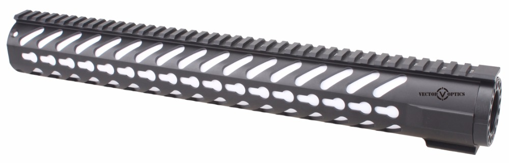 Tactical AR-15 KeyMod 16.5 Inch Handguard Picatinny Rail Mount fit .223 AR15 M4 M16 Black Color шины matador mps530 sibir snow van 215 70 r15c 109 107r