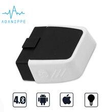 Elm327 IOS Bluetooth 4,0 OBD2 сканер с чипами elm327 Pic18f25k80 V1.5 OBD диагностический инструмент подходит для iPhone/Android