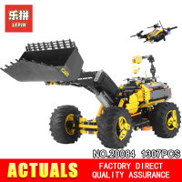 Lepin 20084 2 in 1 Technic Series Volvo Concept Wheel Loader ZEUX Compatible 42081 Model Blocks Building Bricks Educational Toys