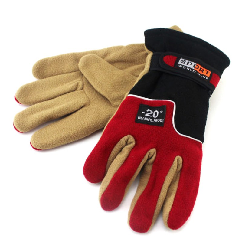 Women Men Warm Skating Cycling Hiking Gloves Full Figner Sports Gym Outdoor Winter Glove K5