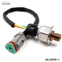 224-4536 3PP6-1 2244536 Heavy Duty Pressure Sensor For CAT C7 3126 C15 MXS BXS NXS