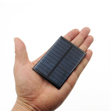 5.5V 100mA Solar cells Epoxy Polycrystalline Silicon DIY Battery Power Charger Module small solar Panels toy