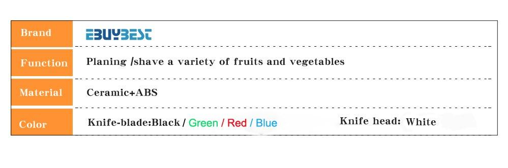 Vegetable Peeler Ceramic