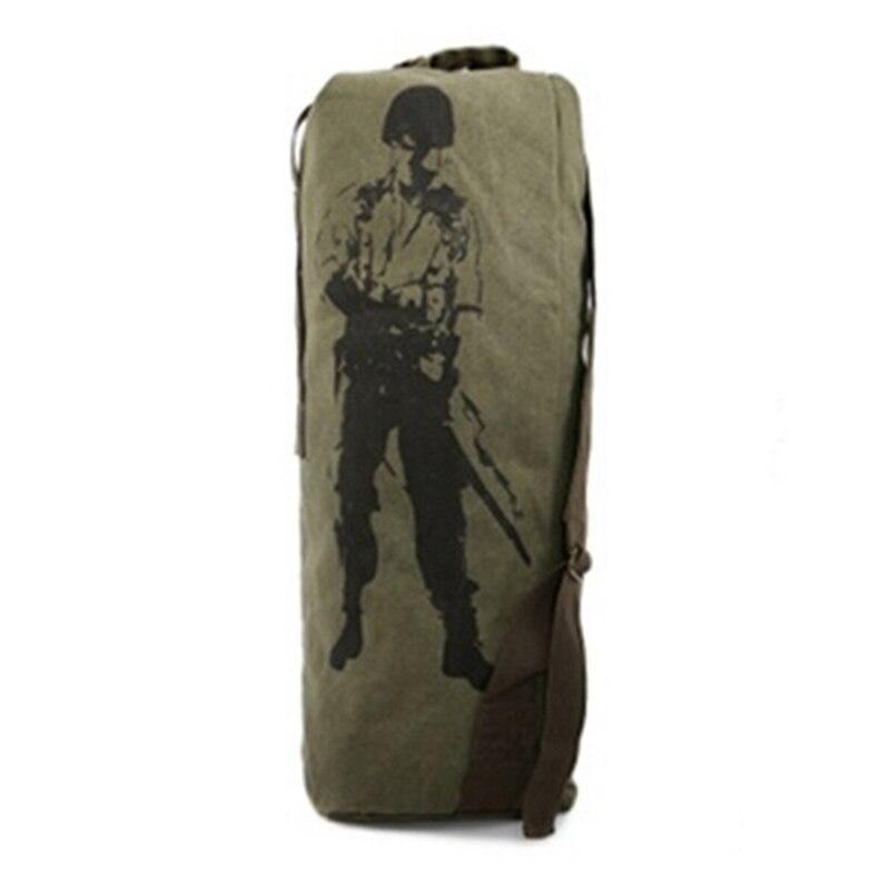 3 boje nove modne platnene pantalone casual torba muški vojni ruksak - Ruksaci - Foto 6