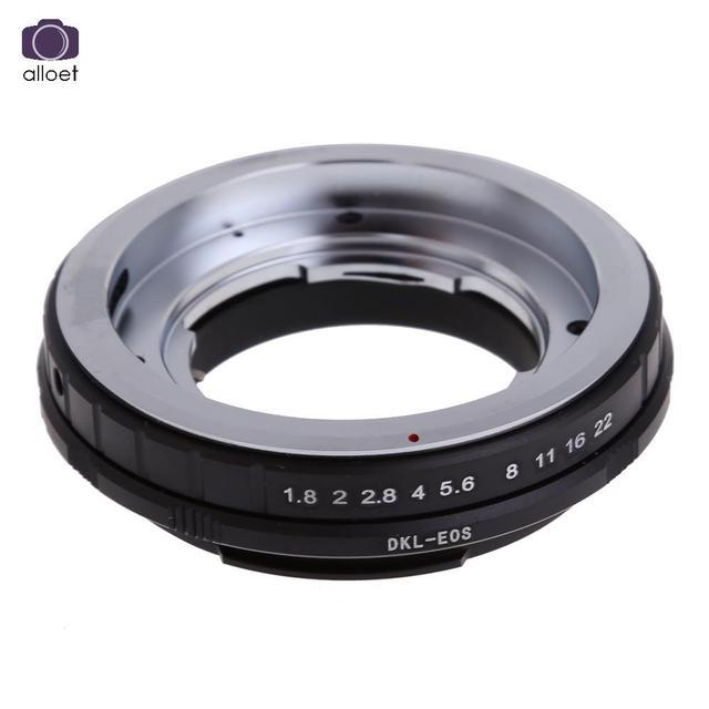 1 Шт. DKL-EOS Объектив Адаптер для Voigtlander Retina dkl Объектив для Canon EOS EF 5D 60D 500D Камеры Адаптер Для Установки *