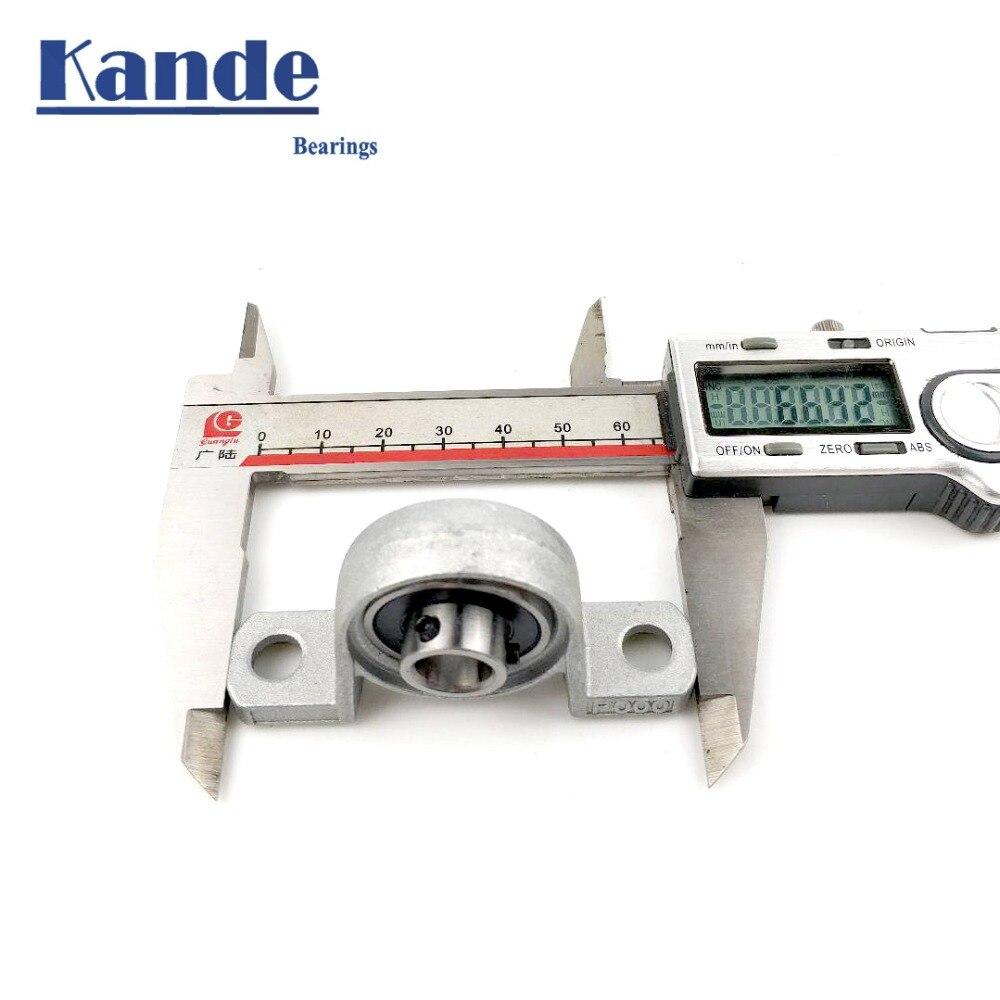 Купить с кэшбэком Kande Bearings  KP000  1pcs KP000 Zinc Alloy Miniature Vertical Bearings/ Zinc Alloy Mounted / Bore: 10mm
