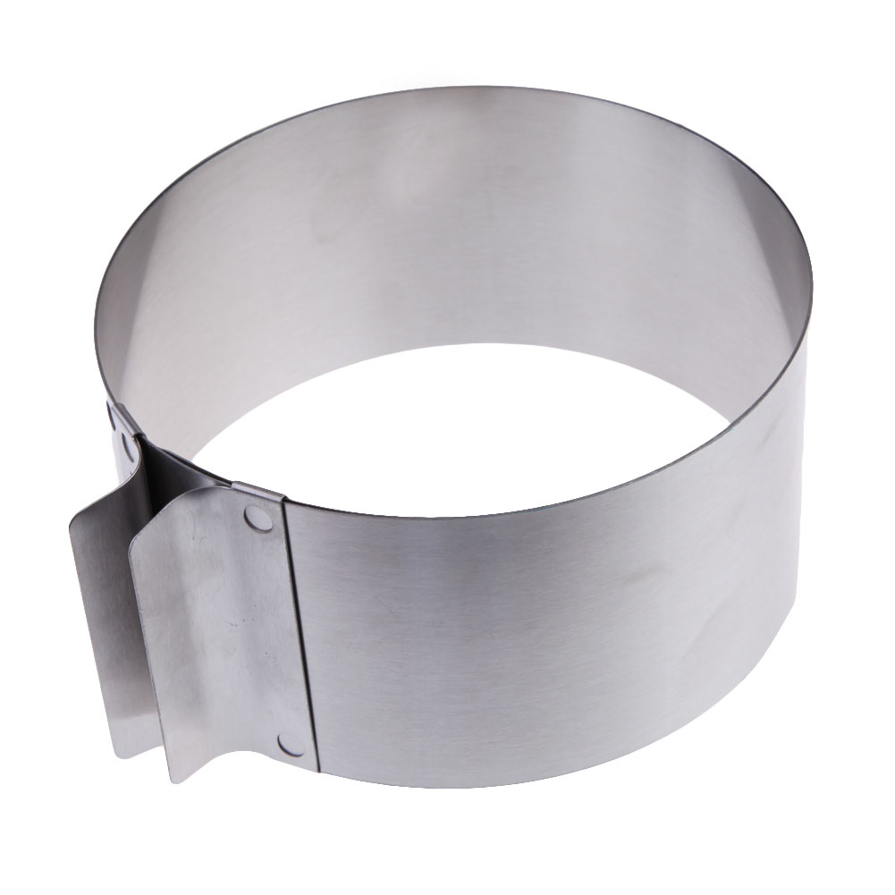 Stainless Steel Round Circle Cookie Fondant Cake Mold Cutter Pastry <font><b>Tool</b></font> FG