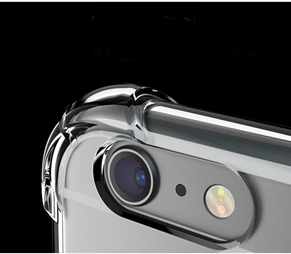 Laixi סופר אנטי לדפוק הלם נקה רך מקרה עבור iphone 6 7 8 בתוספת X שקוף רך TPU מקרה עבור iphone X 8 7 6 6s