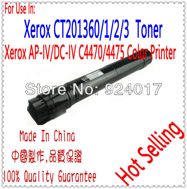 For Xerox CT201360 CT201361 CT201362 CT201363 Toner Cartridge,Refill Toner For Xerox DocuCentre-IV C4470 C4475 4470 4475 Copier ct350823 ct350826 drum cartridge chip for xerox docucentre iv c2260 c2263 c2265 color laser printer toner jp version for japan