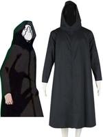 Free Shipping Naruto Anbu Group Black Team Uniform Anime Cosplay Costume