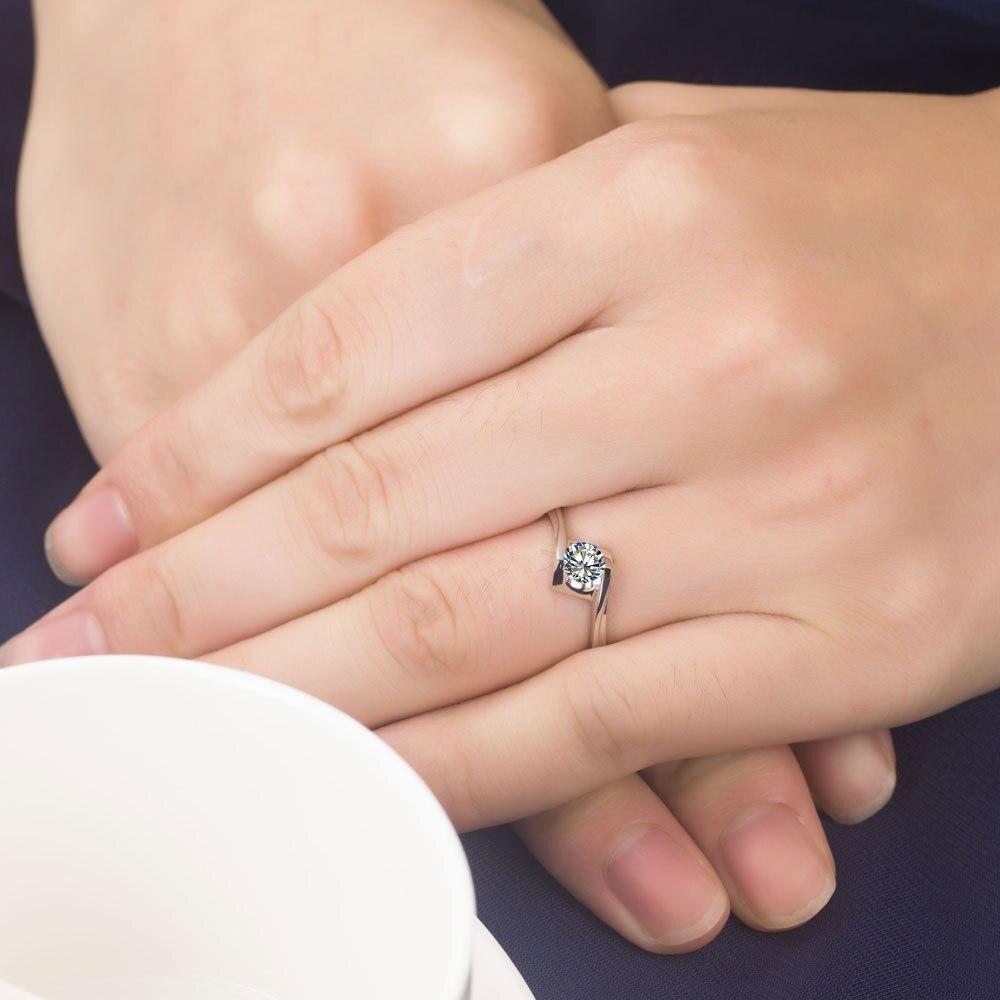 bague diamant 0.6 carat
