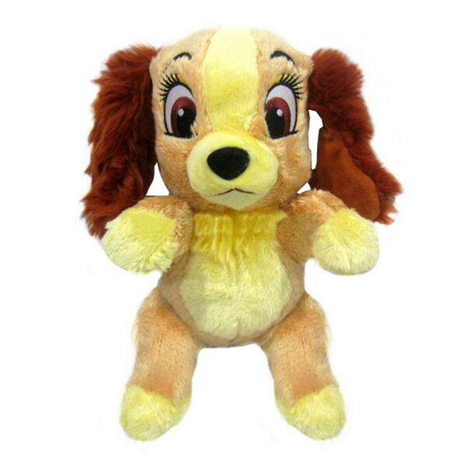 Lady And The Tramp Lady Dog Plush Toy 30cm Cute Brown Puppy Stuffed