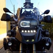 Für BMW R1200GS Abenteuer 2005 2013 Öl Gekühlt Scheinwerfer Hallo abblendlicht mit Winkel augen Keine notwendigkeit Canbus Keine benötigen draht Stecker in Spielen