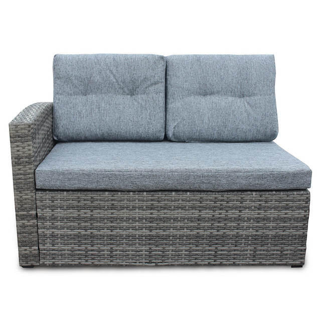 Us 373 75 4pcs All Weather Wicker Outdoor Patio Rattan Sofa Outdoor Living Furniture Set With Small Coffee Table Loveseat Storage Box In Garden