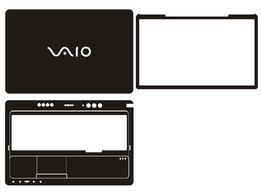 """Laptop ածխածնային մանրաթել վինիլային մաշկի կպչուն ծածկույթ Sony F2 VPCF23N1E / B VPCF21Z1E / BI VPCF232 VPCF234 VPCF226 VPCF215 VPCF227 16.4 """""""