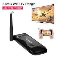 Wecast 2.4/5G Wireless WIFI TV Stick Miracast Airplay DLNA Display TV Dongle E3 RK3036 Mirroring 1080P HDMI Adapter Connector