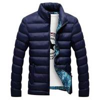 Men Jaqueta Masculina Winter Jackets Casual Sport Wadded Jacket Stand Collar Cotton Padded Jacket Chaquetas Hombre