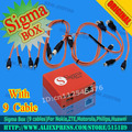 2016 Original Sigma Box+9 cables+Basic Activation free shipping