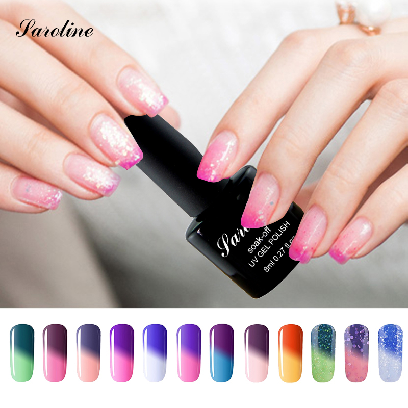 Chameleon UV Gel Temperture lucky Color Change font b Nail b font Gel font b Polish
