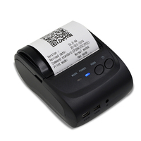 RS232 and USB mini mobile portable thermal receipt bill pos58 printer without battery for taxi HS 584SU