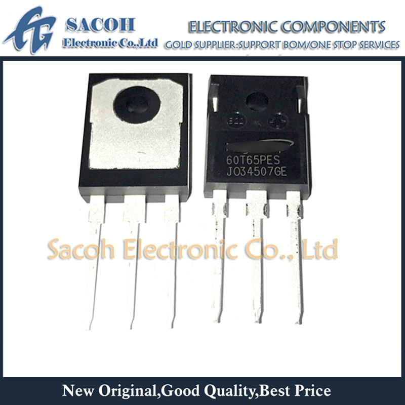 Free Shipping 10Pcs MBQ60T65PESTH MBQ60T65PES 60T65PES 60T65FDSC TO-247 60A 650V High Speed Fieldstop Trench IGBT