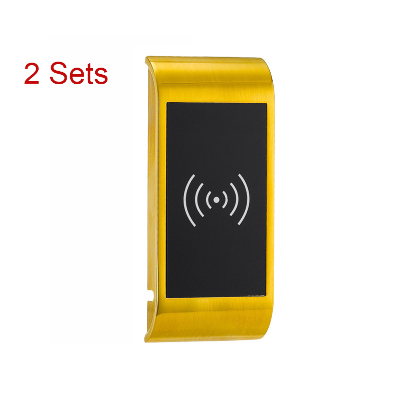 2 Sets SPA Swimming Smart Electronic Cabinet Locker Lock Digital Lock For Sauna Pool Gym EM126