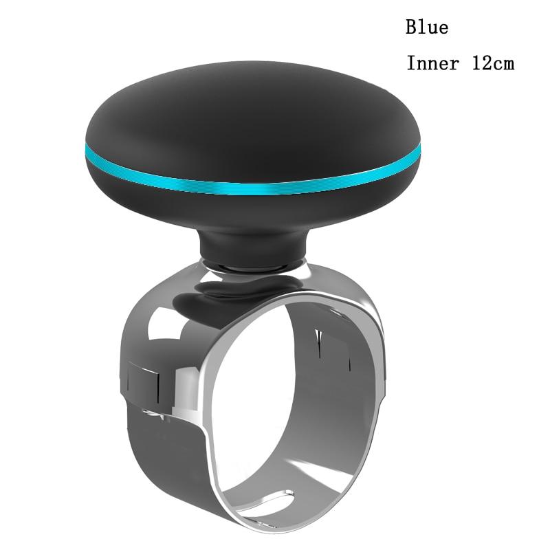 SEBTER автомобиль-Стайлинг автомобиля рулевое колесо Спиннер автомобиля Авто Рулевое Колесо Ручка шариковый поворотный помощник рулевое колесо бустерный мяч - Цвет: Blue 12cm