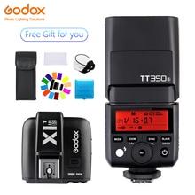 Godox TT350 Mini TT350S Speedlite flash TTL 2.4G+X1T-S Transmitter Wireless Flash Trigge for sony Camera A7 A7S A7R II
