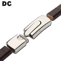 Dc 1ピース/ロットステンレススチールシルバー磁気クラスプ5*11ミリメートルフィットレザーパッチコードロープdlyブレスレットネックレスジュエリーコネクタ