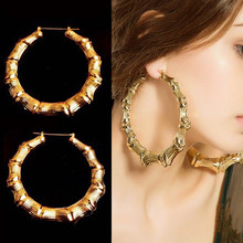 8dcca167774a9 Popular Gold Bamboo Earrings-Buy Cheap Gold Bamboo Earrings lots ...