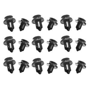 Image 5 - 20 sztuk/zestaw 8mm 10mm otwór plastikowy ustalający zderzak nitowy klips wykończeniowy pokrywa silnika zacisk panelowy łączniki dla Honda Civic Accord