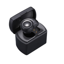 M1 Ultra-Mini Bluetooth Earphone With Portable Charging Box Stereo Wireless Earbuds Headset Sports Fashion Invisible