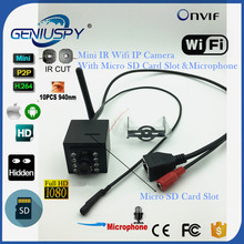 2.0MP 1080P IR Night Vision 940nm Mini Wireless IP Camera Sd Card Slot Wifi Motion Detection CCTV Security P2P Onvif Microphone
