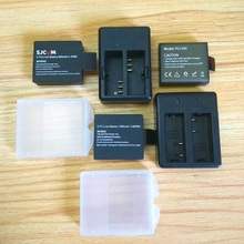 Original SJCAM EKEN Soocooแบตเตอรี่1350/1050MAhสำหรับSj4000 Sj5000 C30 H9 THIEYE T5E E7 Cationกล้องอุปกรณ์เสริม