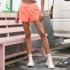 Summer Women Running Shorts Elastic Waist Fitness Sport Yoga Shorts Double Layer Gym Workout Training Jogging Short S-XXL 1