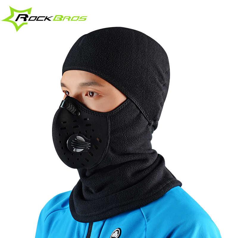 6ba77d64710 ... ROCKBROS Winter Face Mask Scarf Cap Neck Headwear Face Shield Hat Ski  Sport Face Mask Cycling ...