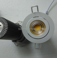 Free Shipping 15W Dimmable Led Downlight COB Ceiling Spot Light Led Ceiling Recessed Lights Warm Cool