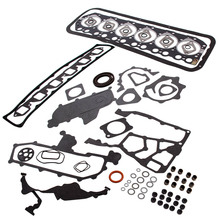 Full Head Engine gasket for Nissan Safari Patrol Civilian GU GQ TD42 4.2L M for Nissan Safari Patrol 4.2L TD42 T GQ Y60 Y61