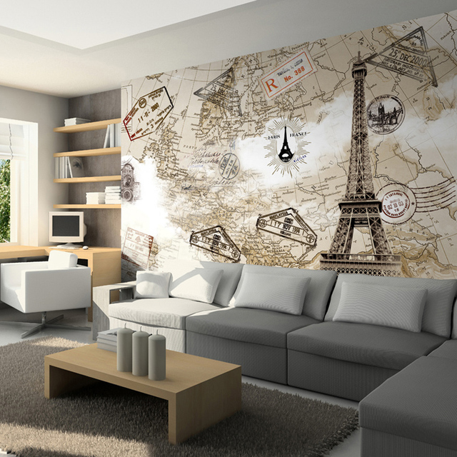 Tv Background Wall Mural 3D Wallpaper Fashion Paris Tower 3d Wallpapers For  Walls Tv Background Living Part 46