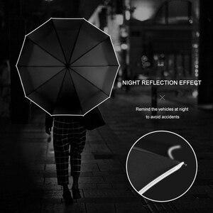 Image 3 - Parapluie pliant automatique 10 côtes