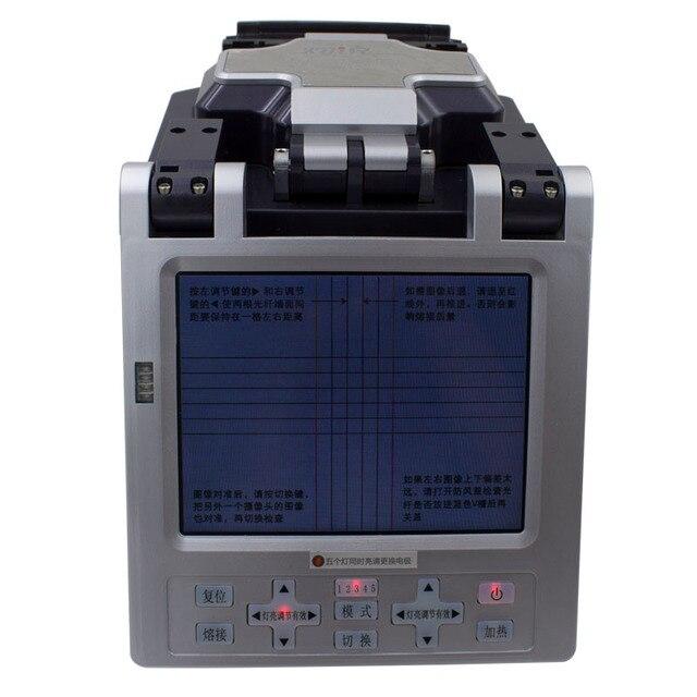 Автоматическая и Интеллектуальная Система Оптического Волокна Fusion SM & MM Автоматическая FTTH Волоконно-Оптический Сращивание Машины Оптического Волокна Fusion Splicer