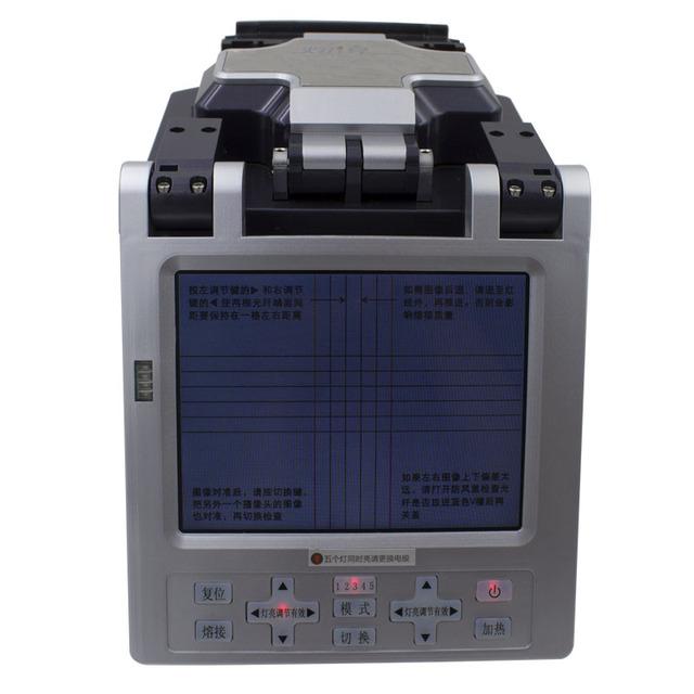Automático Inteligente Óptica FTTH Fibra Óptica de Empalme de Fusión De Fibra SM y MM Automática Máquina De Fusión De Fibra Óptica Splicer