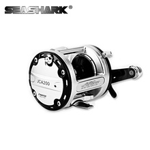 SEASHARK saltwater tackle tools Boat Fishing Reel Right Handle optional Lure Fishing Reel 12+1BB Bait Casting drum wheel