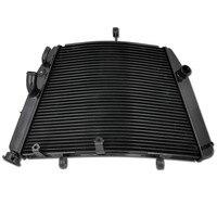 Мотоцикл Алюминиевый Запчасти радиатор охлаждения Cooler для Suzuki GSXR600 GSXR750 2006 2014 GSX R600 GSX R750 06 14 GSXR 600 750 Новый