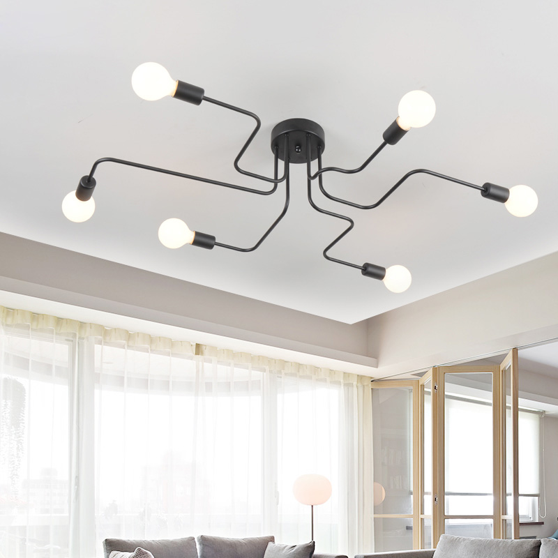 Modern simple Nordic style atmospheric ceiling lamp personality creative living room bedroom study restaurant lamp Pendant light hatem hussny hassan study of atmospheric ozone variations from surface and satellite data