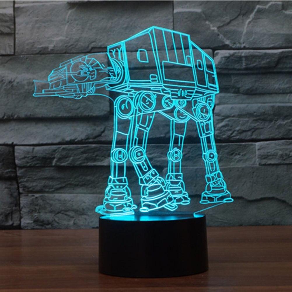 Aliexpress Com Buy Star Wars Darth Vader 3d Night Light