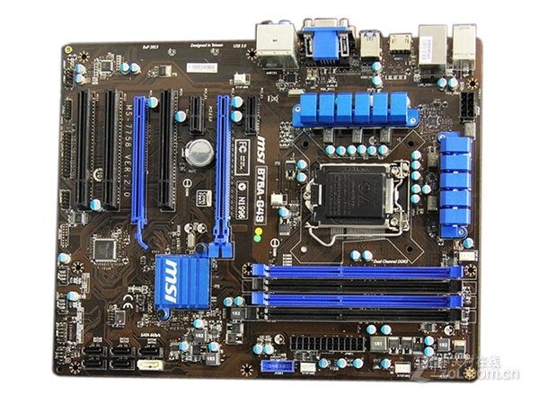 Free shipping original Desktop motherboards for MSI B75A-G43 DDR3 LGA1155 mainboard USB2.0 VGA HDM DVI SATAIII SATAII B75 boards цена